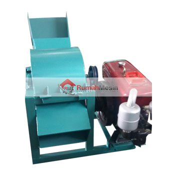 Mesin Pencacah Rumput Kapasitas 250 - 500 Kg / Jam