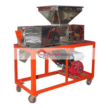 Mesin Peras Santan Model Screw Press