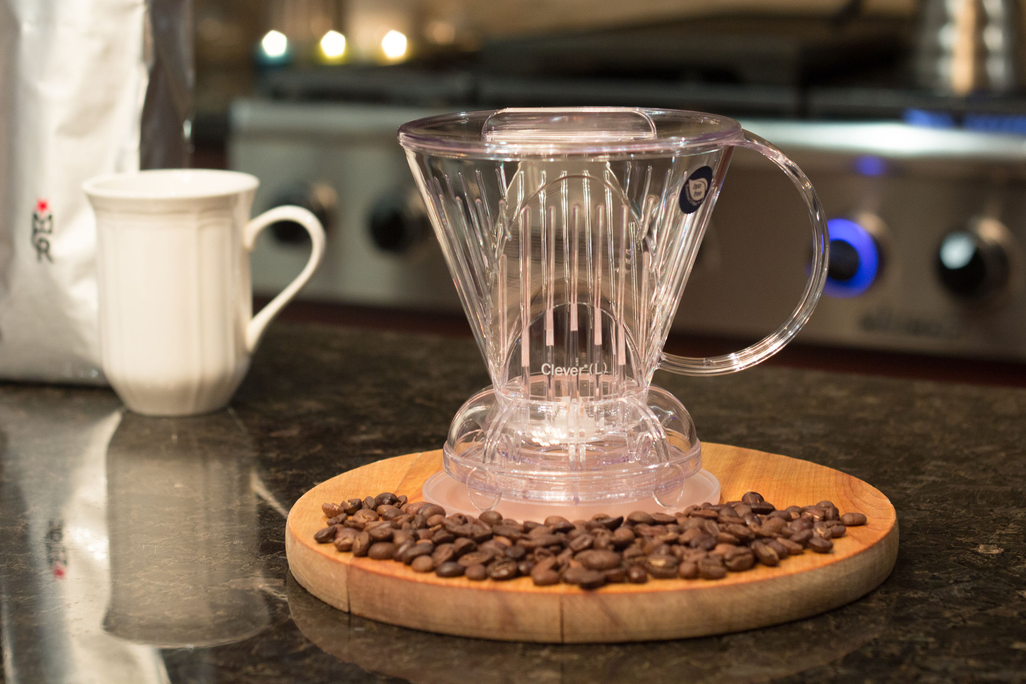 clever dripper coffee