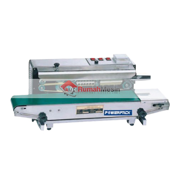 Mesin Continuous Sealer SF – 150 LW Stand Model