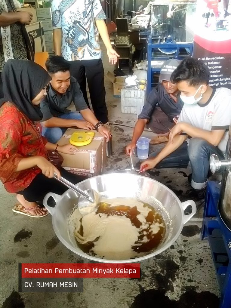 Proses Pemasakan Minyak
