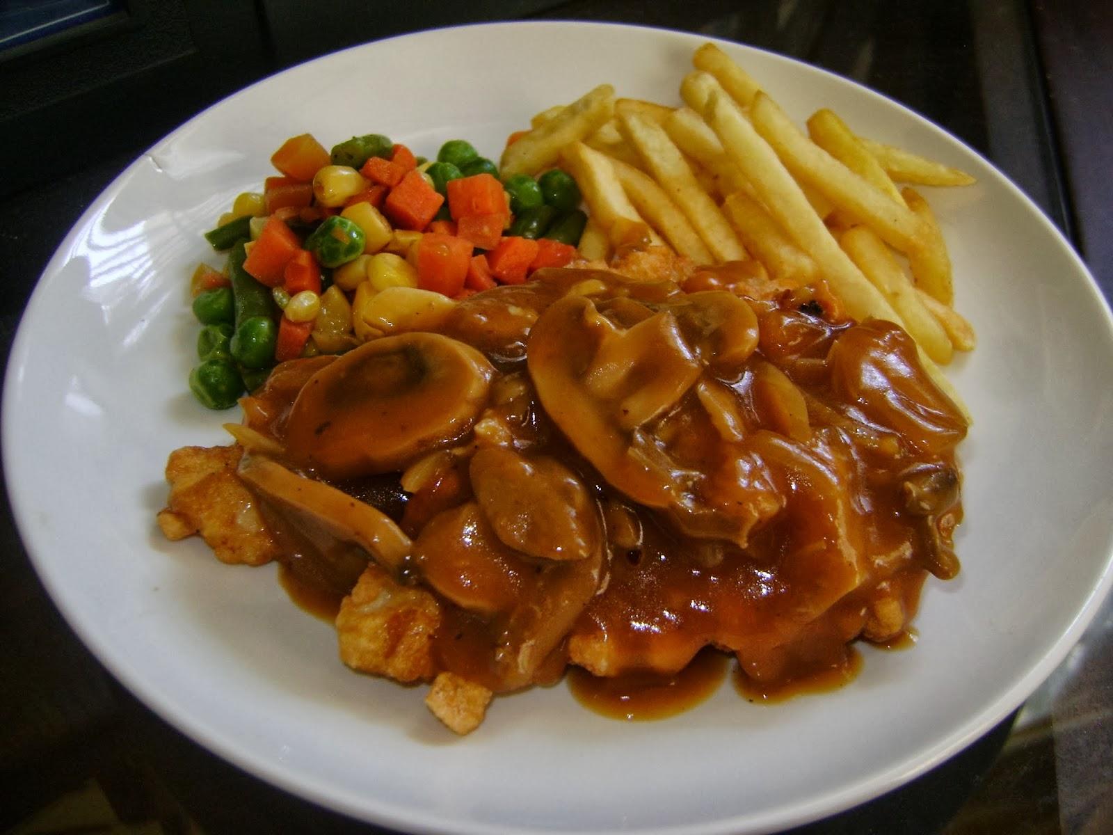 Steak Ayam Jamur