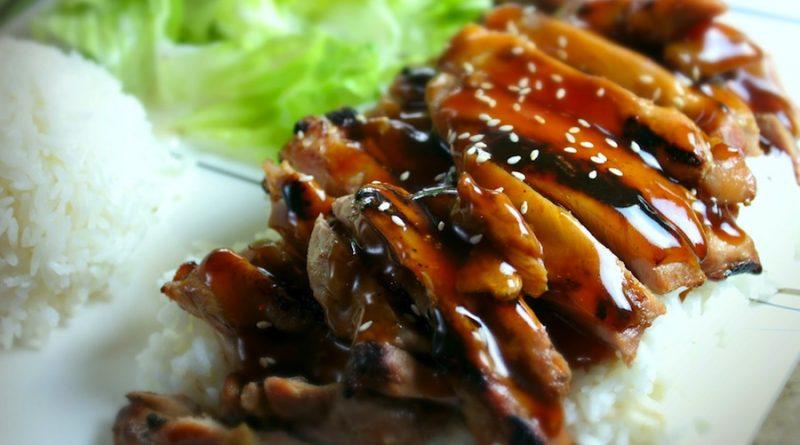 Steak Ayam Teriyaki
