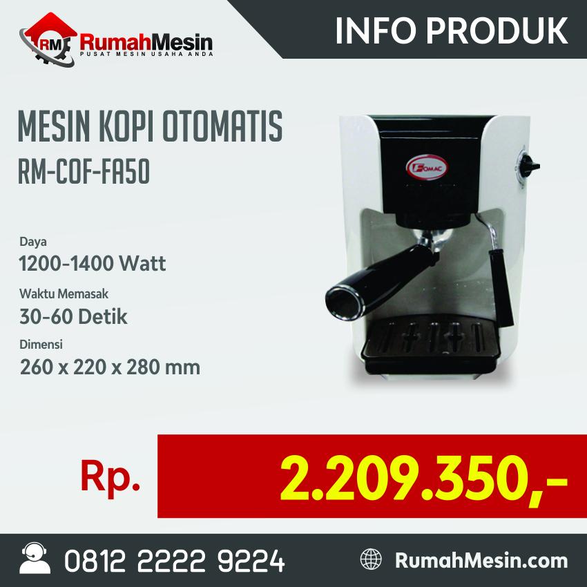 mesin kopi rm-cof-fa50