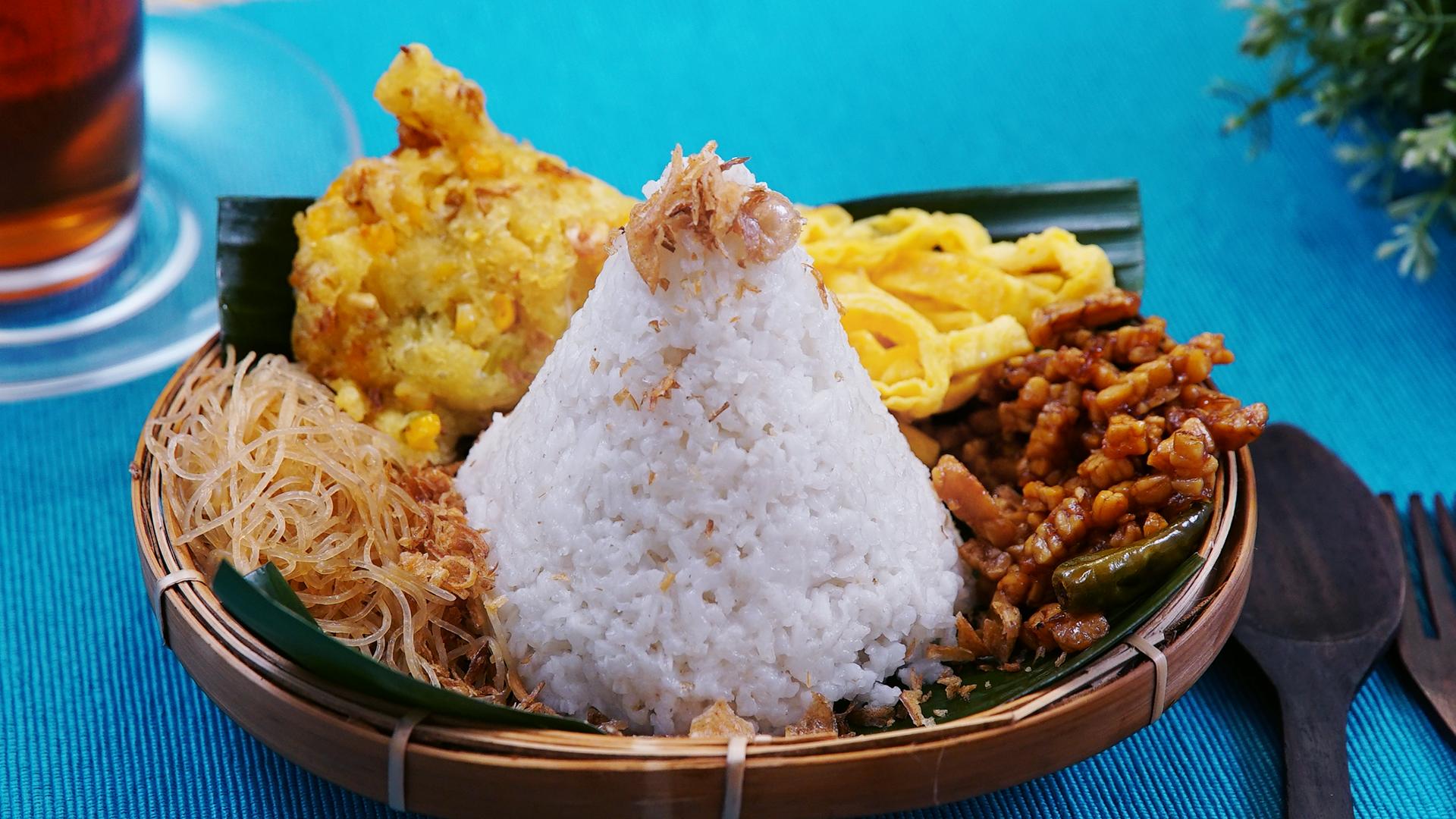 cara membuat nasi uduk