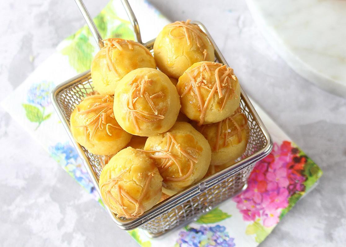 Resep Kue Kering Terbaru Kue NastarKeju Selai Nanas