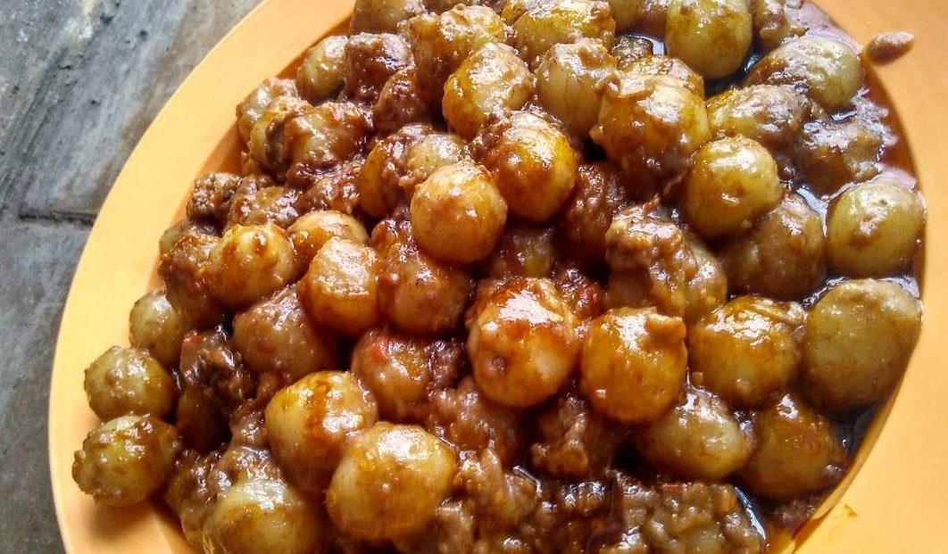 resep cilok bumbu kacang ebi