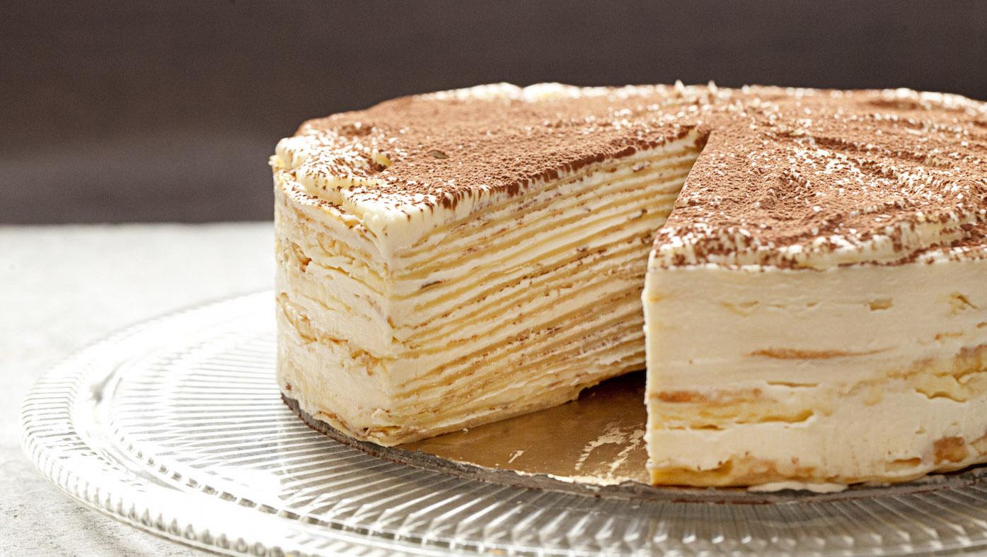 Cara Membuat Crepes Cake