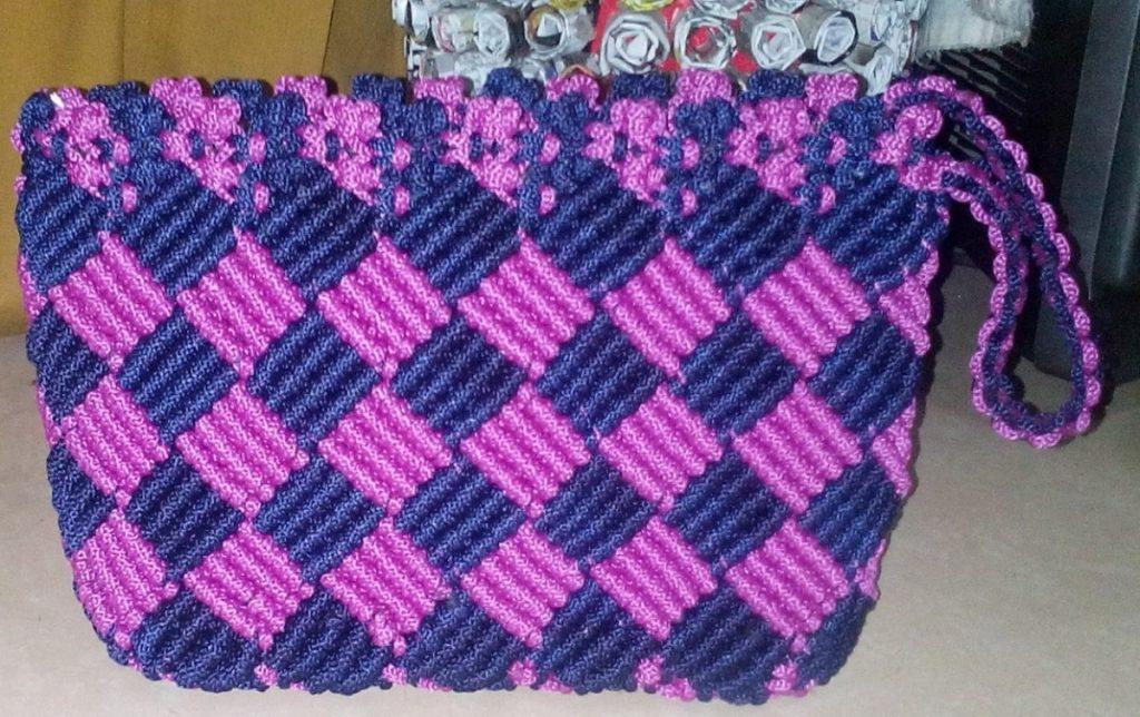 Cara Membuat Tas Dari Tali Kur Sederhana