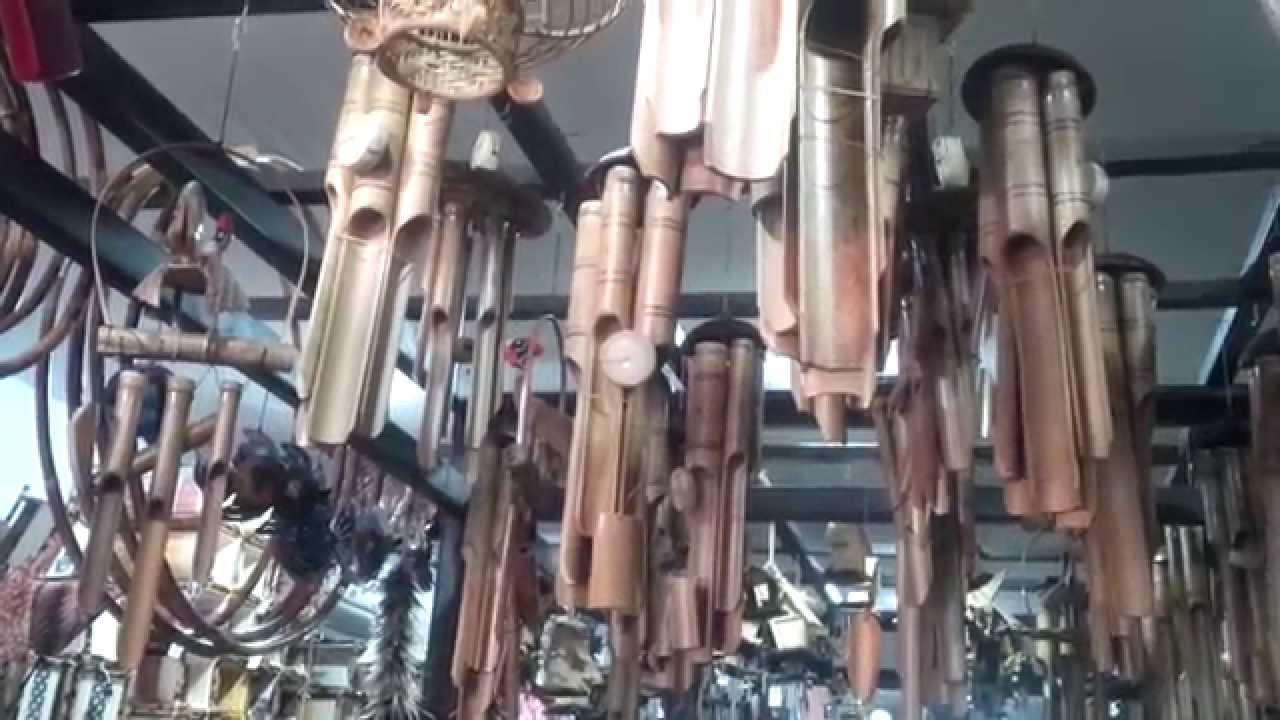 Cara membuat lonceng angin dari batok kelapa