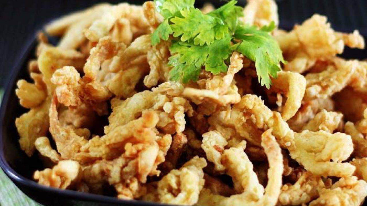 Resep membuat jajan anak jamur crispy