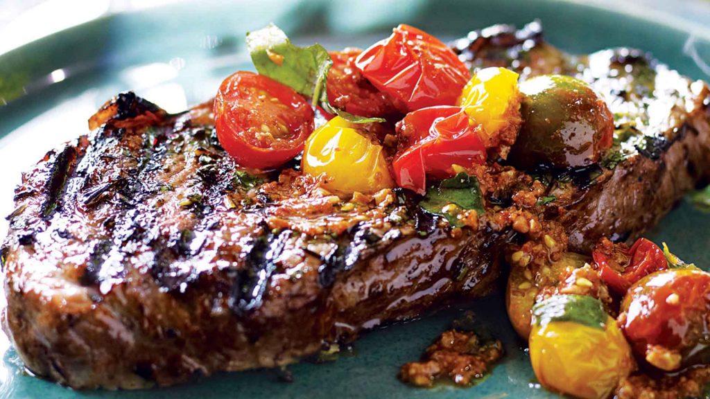 Resep steak daging sapi saus teriyaki