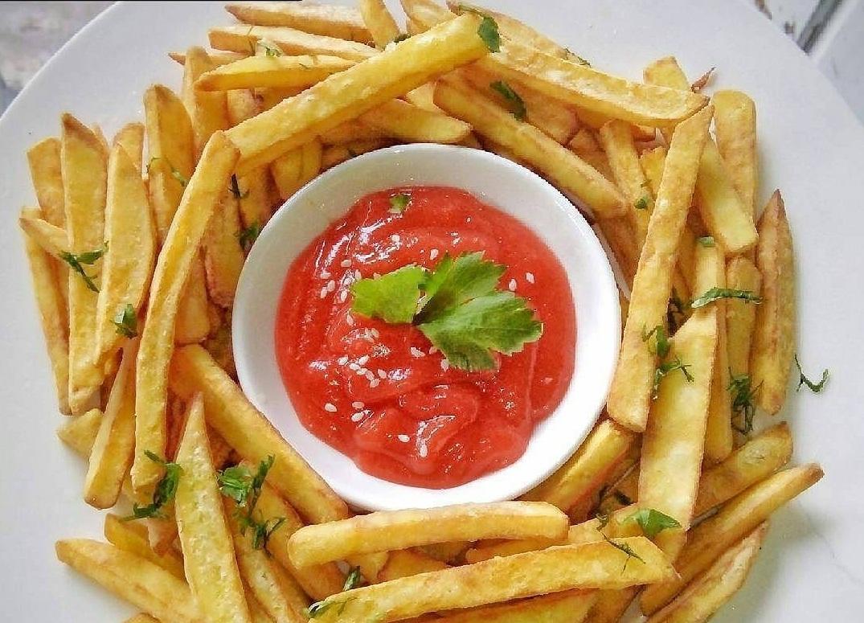 cara membuat saus kentang goreng