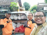 Rumah Mesin Salurkan Bantuan Nasi Bungkus ke Korban Banjir di Bantul dan Kulonprogo