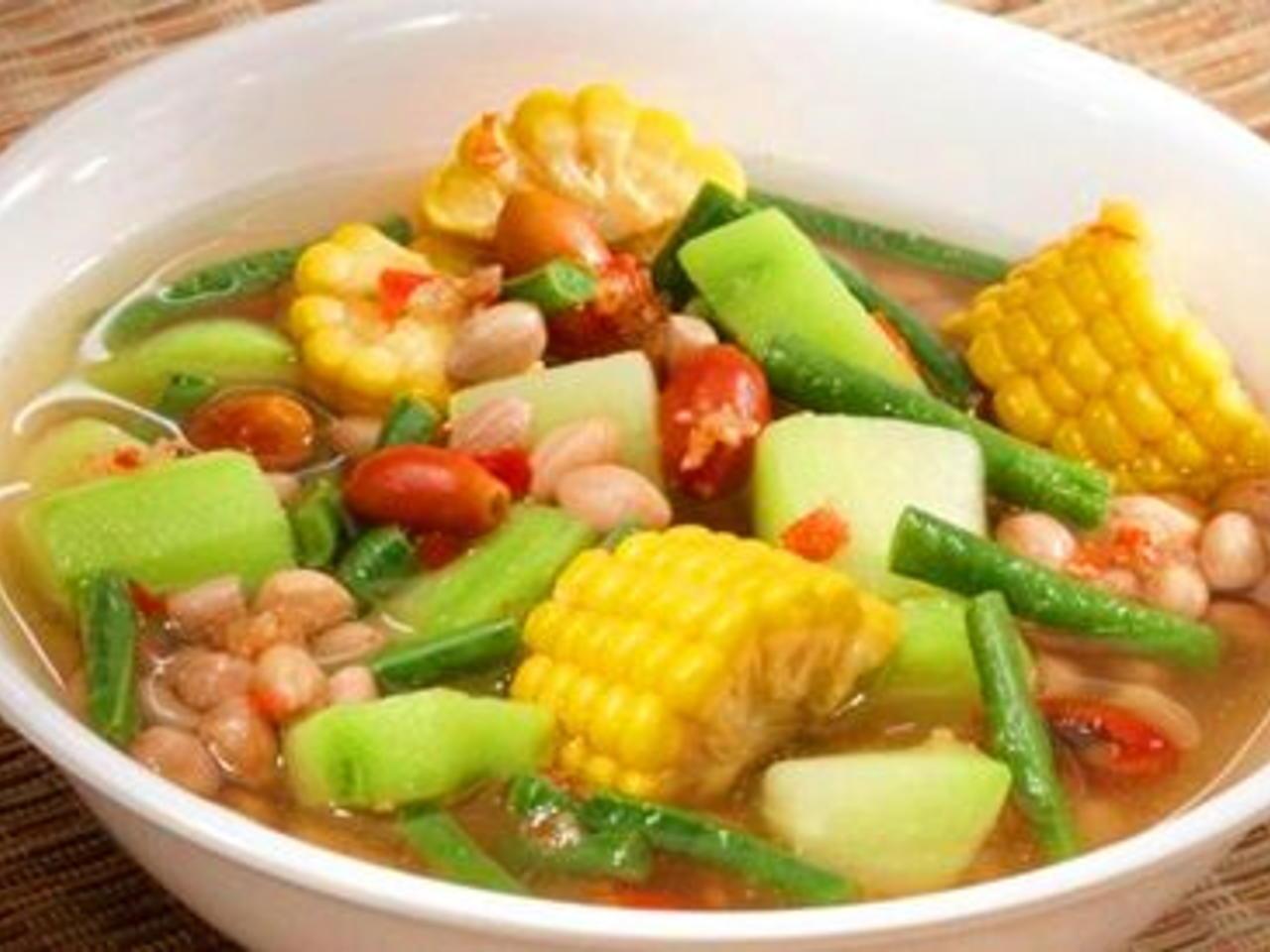 cara masak sayur asem