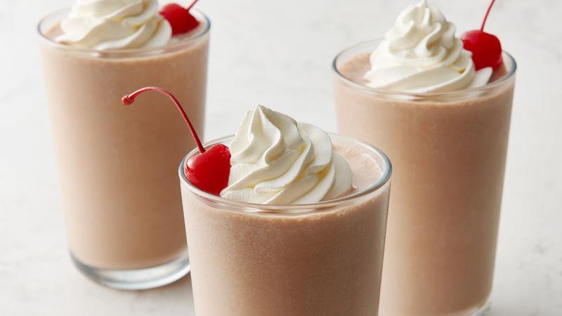 cara membuuat milkshake coklat