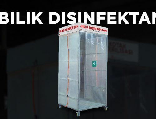 Bilik Disinfektan, Produk Baru Rumah Mesin untuk Minimalisir Virus