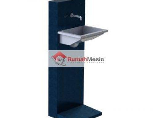 Kran Wastafel Otomatis – Mencuci Tangan Higienis Tanpa Menyentuh