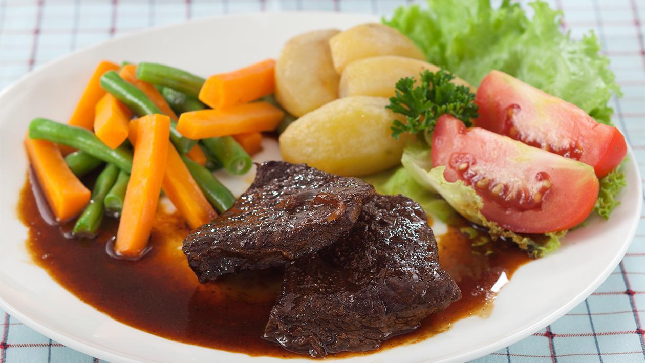 Cara Membuat Steak Daging Giling